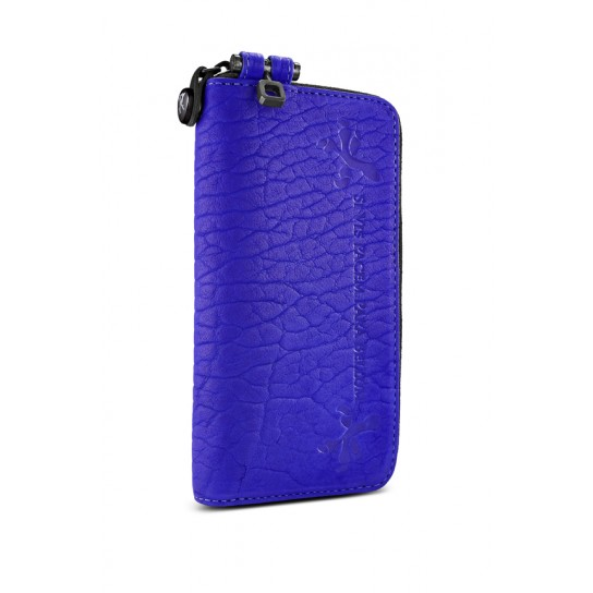 Parabellum Collection - Large Courier Wallet - Violet / BLACK - Wallets