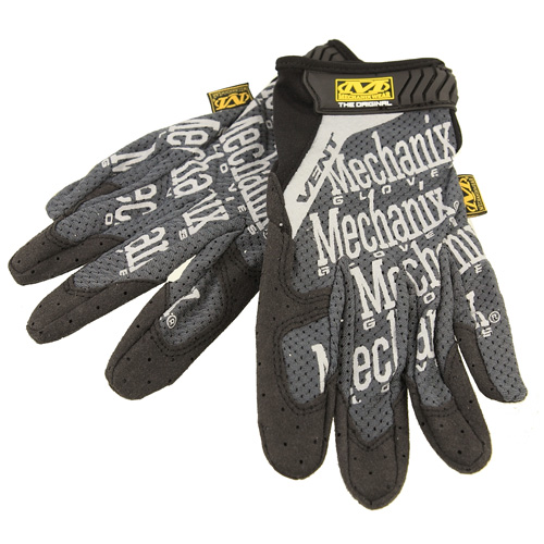 BLUE LUG / *MECHANIX* vent glove (gray)