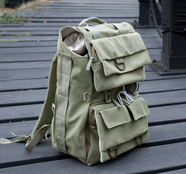 Fancy - Canvas Camera Backpack