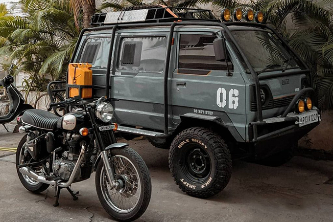 Suzuki Omni 'Gymni' By Holy Shift Garage | HiConsumption