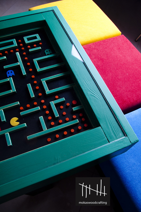 Pac-man table on the Behance Network