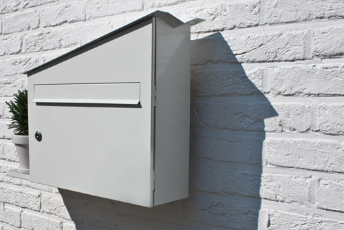 Get Out! Green Mailbox | Design Milk