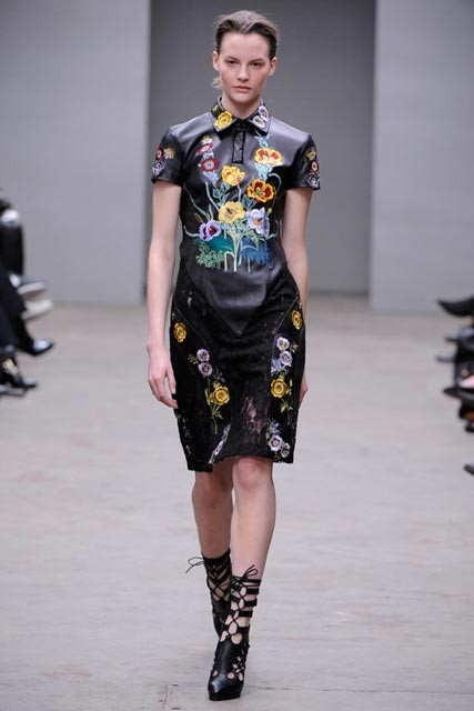Christopher Kane A/W 2010   Fashion Week Photos   Catwalk Shows   Marie Claire