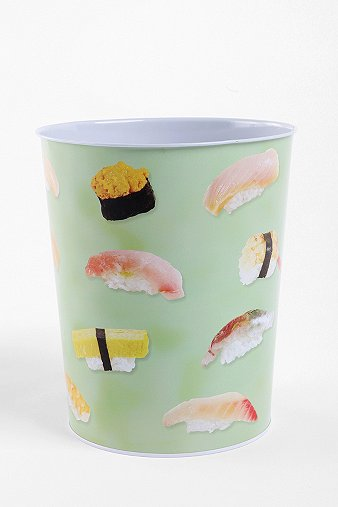 Sushi Trashcan - Urban Outfitters