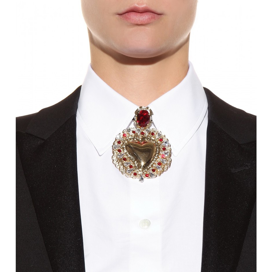 mytheresa.com - Crystal-embellished velvet choker - Necklaces - Jewellery - Accessories - Luxury Fashion for Women / Designer clothing, shoes, bags