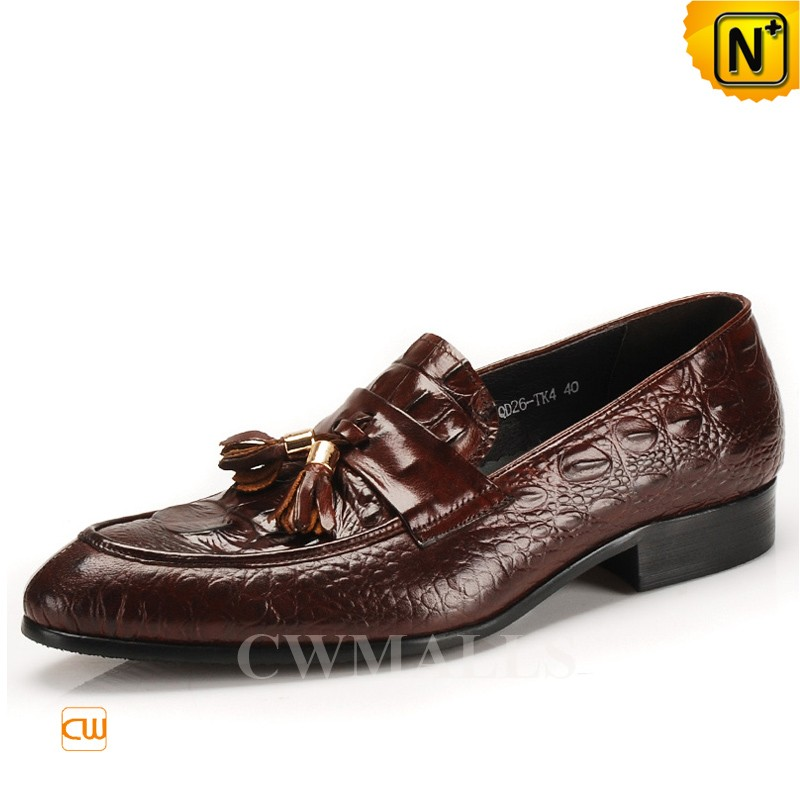 CWMALLS® Tassel Leather Dress Loafers CW716211