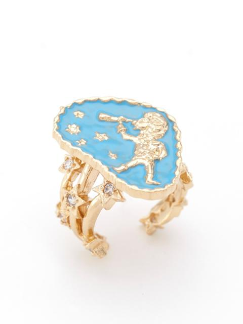 oneshop / Aries Coin Signet Ring Matina for Sretsis