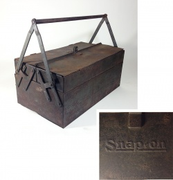 "Others - 1930-early 40's ""Snap-on"" Tool Box - FUNNY SUPPLY □ Antiques ■ - FUNNY SUPPLY"