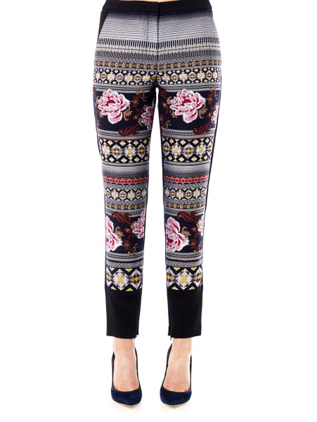 Floral Folk Trousers