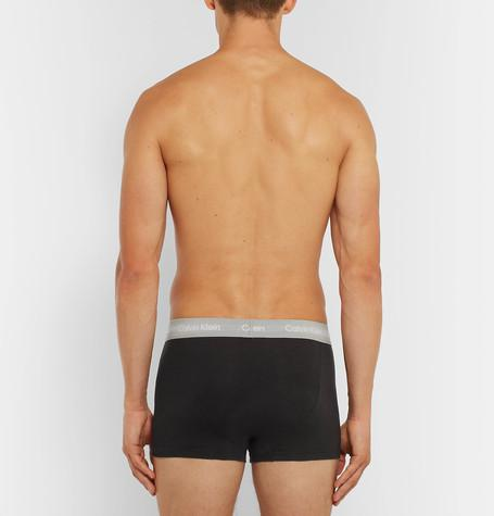 Calvin Klein Underwear - Three-Pack Stretch-Cotton Boxer Briefs