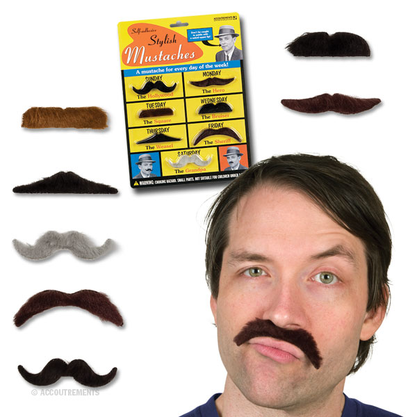 Stylish Mustaches - Accoutrements