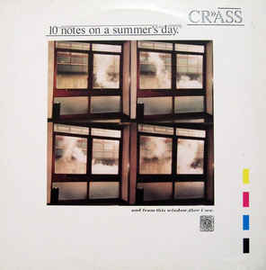 Crass - 10 Notes On A Summer's Day (1986, Vinyl)   Discogs