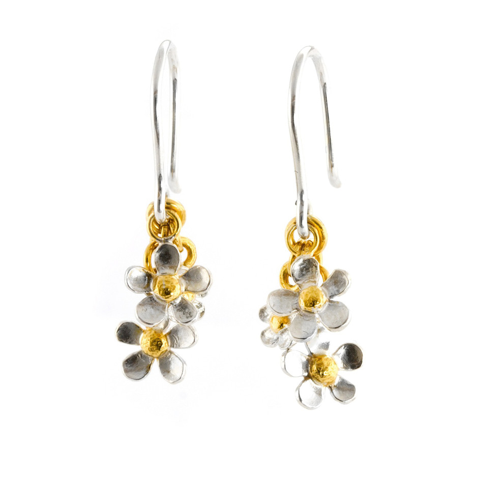 Alex Monroe | Dream of Me | Little Bunched Posy Cluster Earrings