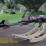 "Loving Dad Builds Custom ""Star Wars"" Rocking Horse for Daughter's 1st Birthday - My Modern Met"