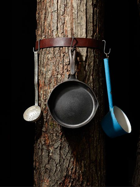 Campsite Cabinet: The camp hanger shown is ... | Bushcraft & Camping