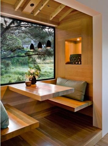 kitchen and dining / breakfast nook