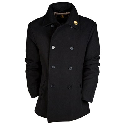 Manchester City Bayswater Coat - Black