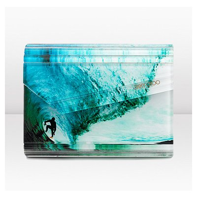 Jimmy Choo | Candy | Surfer Printed Clutch - recommendation by FashionTrendAlert - ThisNext