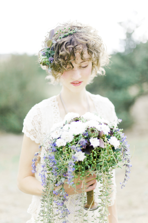 Naturalist Wedding Inspiration Ruffled