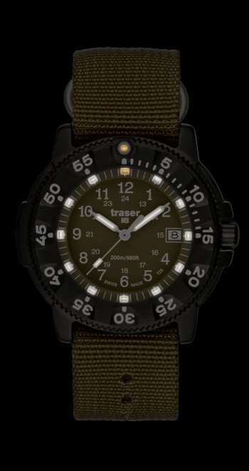 traser® H3 more light watches | P 6507 Commander 100 Pro