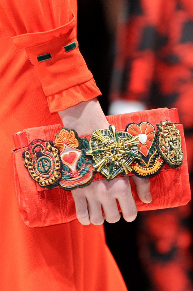 Moschino | Embellished satin-twill clutch | NET-A-PORTER.COM
