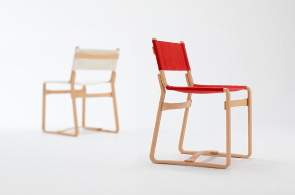 Coshell-Chair <コシェルチェア-レッド> | イージーチェア | | 天童木工 Online Shop