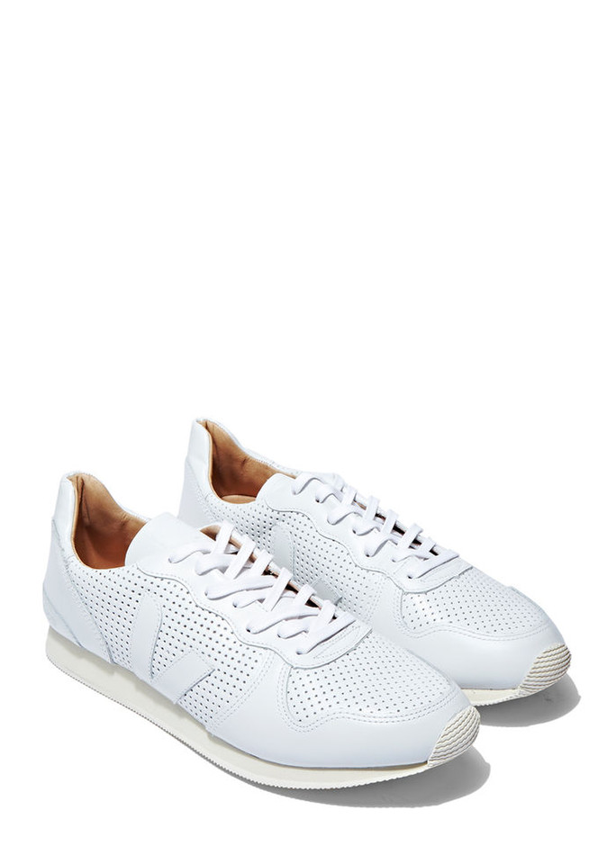 Veja Holiday Bastille Leather Sneakers | LN-CC