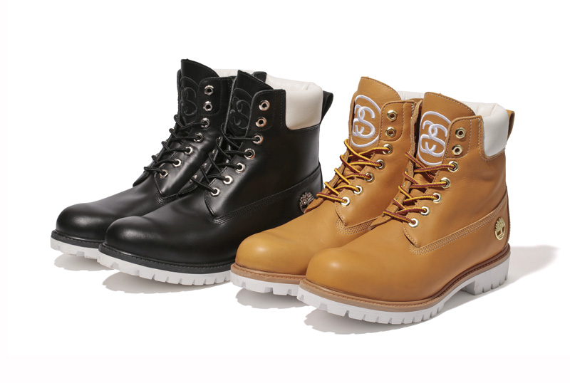 STUSSY × Timberland Leather 6″ Zip Boot : STUSSY JAPAN OFFICIAL SITE