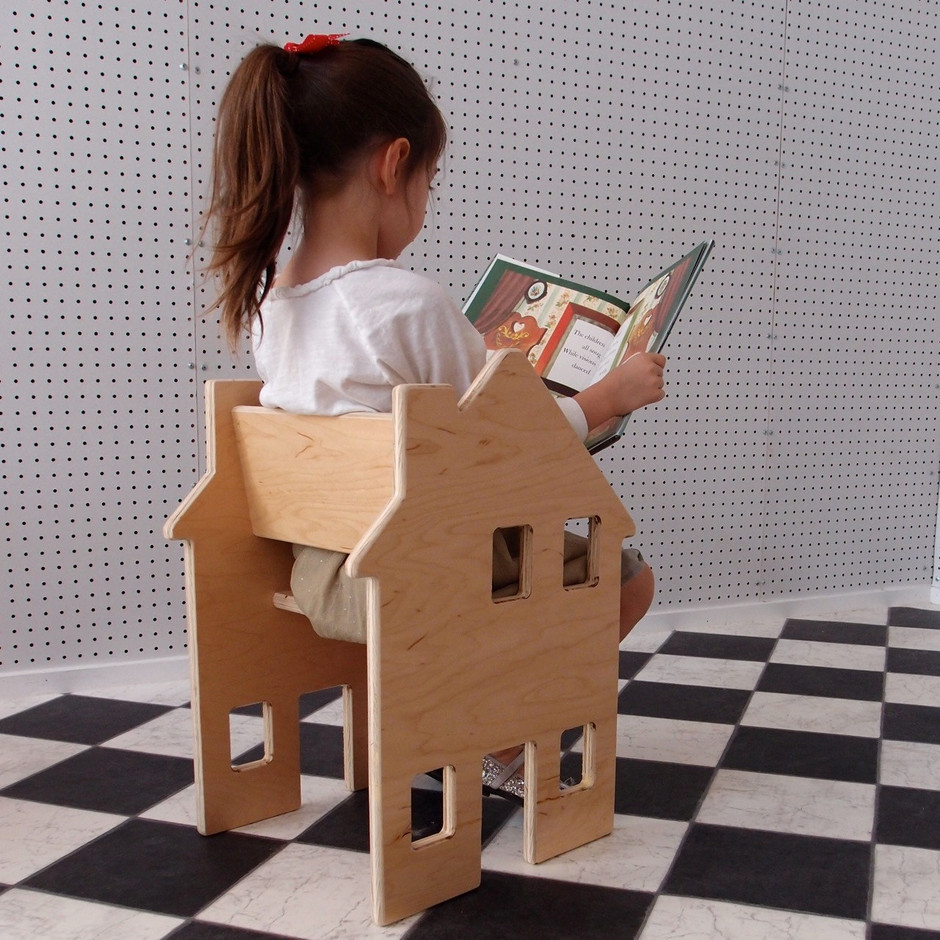 Children's Chair Colonial House from the by palomasnest on Etsy