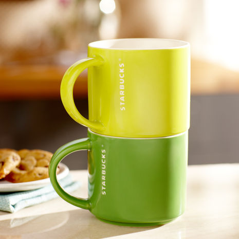 Starbucks® Stacking Mug , Lime, 14 fl oz | Starbucks® Store