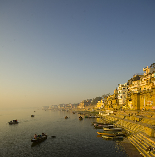 Boats on the banks of river Ganga, Kashi | Flickr - Photo Sharing!