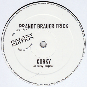 "Corky (James Braun Remix) by Brandt Brauer Frick - 12"" - Boomkat - Your independent music specialist"