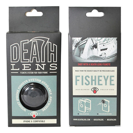 DEATH LENS iPHONE 5/5S,iPHONE 6,iPHONE 6 PLUS FISHEYE ANGLE LENS | 坩堝-RUTSUBO- ONLINE SHOP
