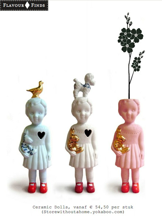 furniture and stuff for home / Ceramic dolls by Lammers & Lammers