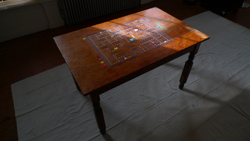Pacman Table on Behance