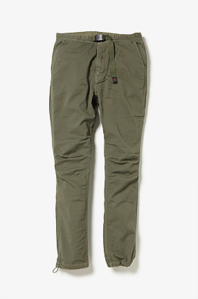 CLIMBER EASY PANTS OVERDYED C/P TWILL STRETCH BY GRAMICCI|PANTS|COVERCHORD