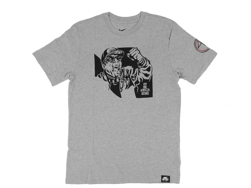 THE GOOD WILL OUT | SNEAKER SHOP KÖLN - Nike x Eric Haze Spike Lee Hero T-Shirt (grey/black) 507678063