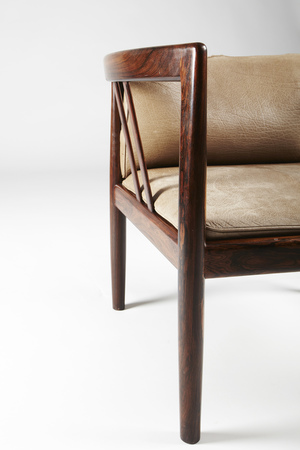 Paere Dansk - I Wikkelso Handy Chair in Rosewood Product Page
