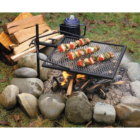 Amazon.com: Adjust-A-Grill 13570 Portable Campfire Grill: Sports & Outdoors