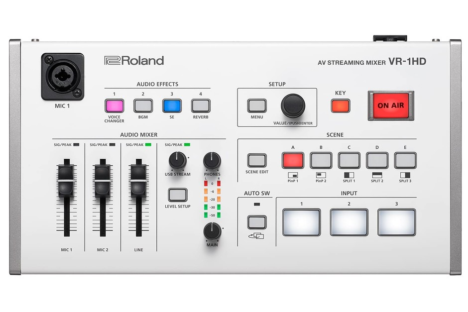 Roland Pro A/V - VR-1HD | AV Streaming Mixer