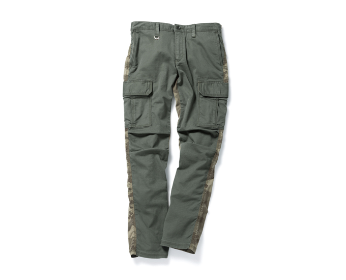 SOPHNET. | PRODUCT | CAMOUFLAGE MIX SLIM-FIT CARGO PANT