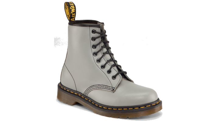 Dr Martens 1460 GREY SMOOTH - Doc Martens Boots and Shoes