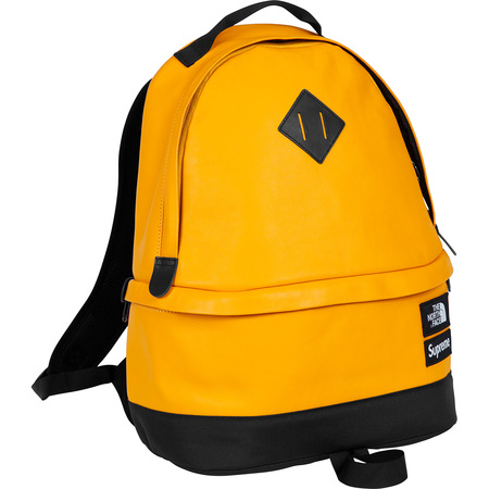 Supreme: Supreme®/The North Face® Leather Day Pack - Yellow