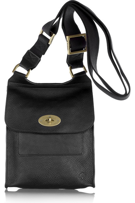 Mulberry - Antony in Black Natural Leather
