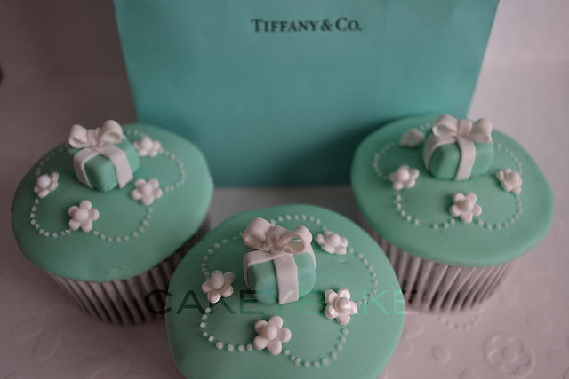 Tiffany Cupcakes | Flickr - Photo Sharing!