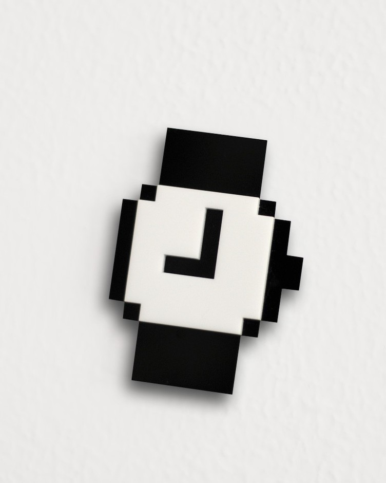 Mac Pixel Brooches Set by bRainbowshop on Etsy