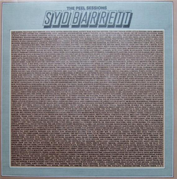 Syd Barrett - The Peel Sessions at Discogs