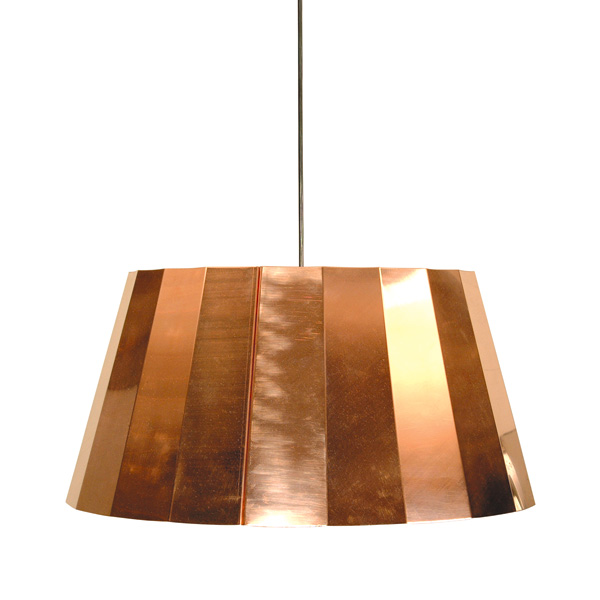 Piet hein eek copper pendant light sumally piet hein eek copper pendant light mozeypictures Image collections