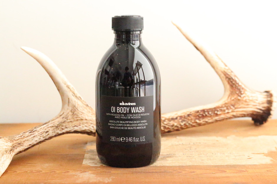 glimpse — Davines new product Oi Body Wash...