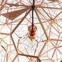 tom dixon: etch web light at luminosity - milan design week 2012